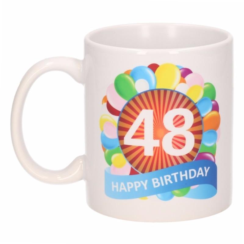 Leeftijden Mokken 48e Verjaardag Cadeau Beker Mok 300 Ml